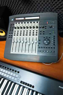 Fully equipped music and recording studio